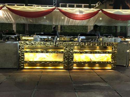 glorious gold set up-agrawal catering (6)